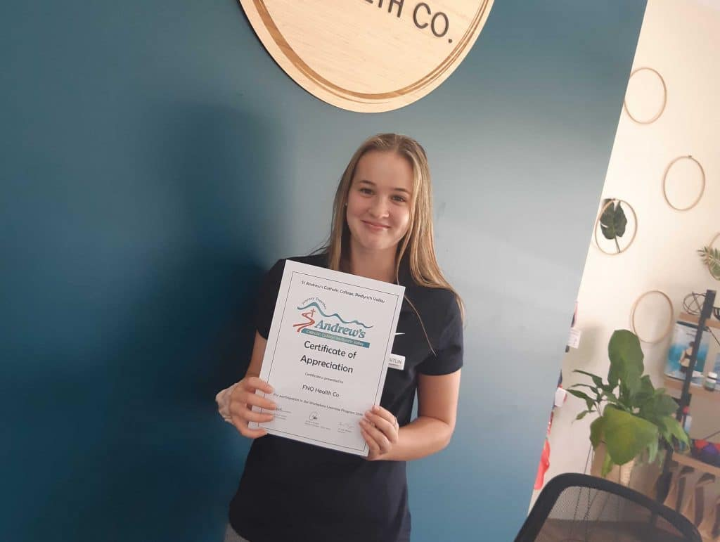 Caitlin Sansom Work Experience FNQ Health Co.
